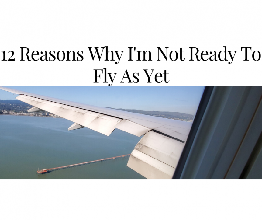 12 Reasons I'm Not Ready To Fly As Yet