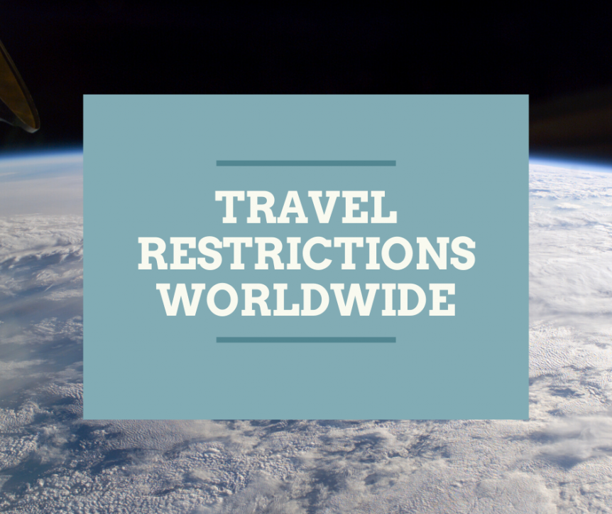 travel restrictions worldwide
