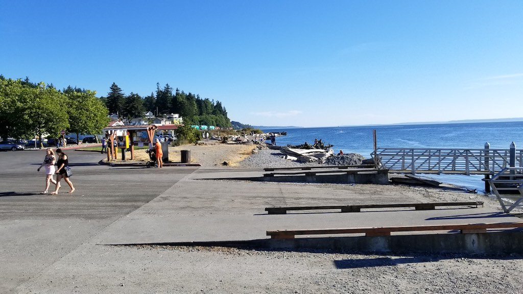 Mukilteo, Washington USA - Beach
