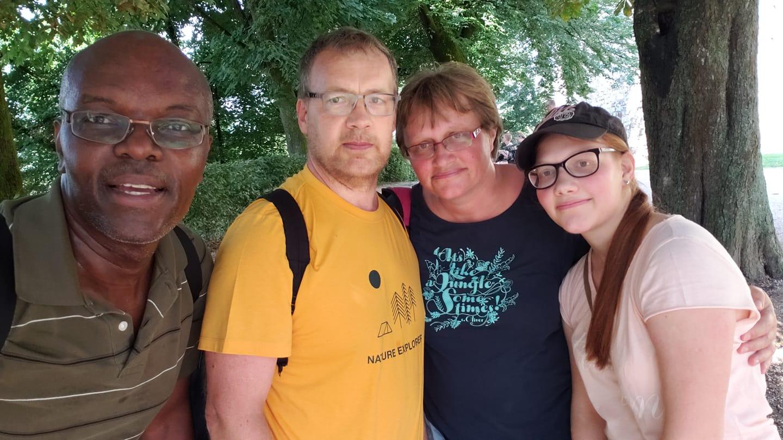 Family in Ljublana