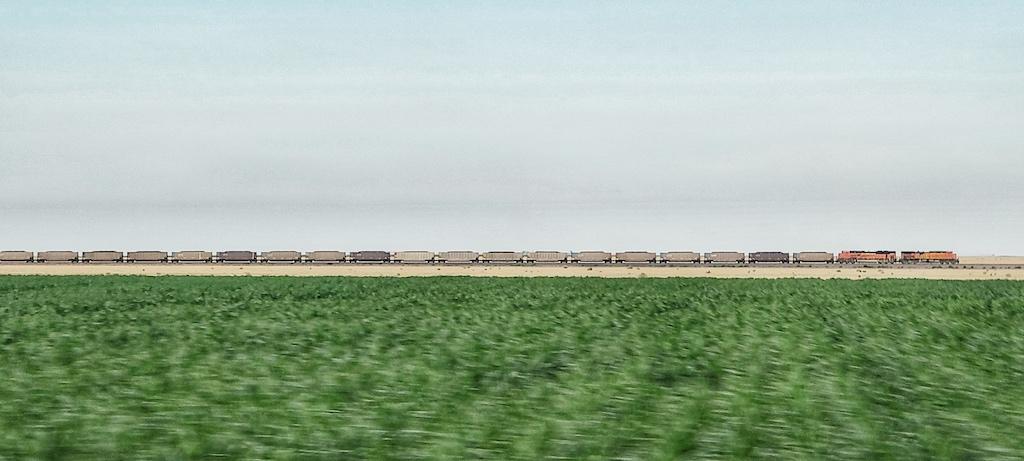 Freight Train in Campo, Colorado