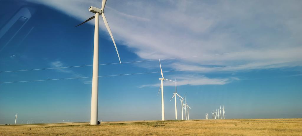 McCamey, Texas wind farm