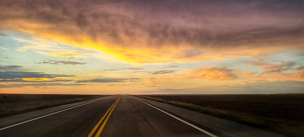 Road Trip: Sunset in Hugo, Colorado