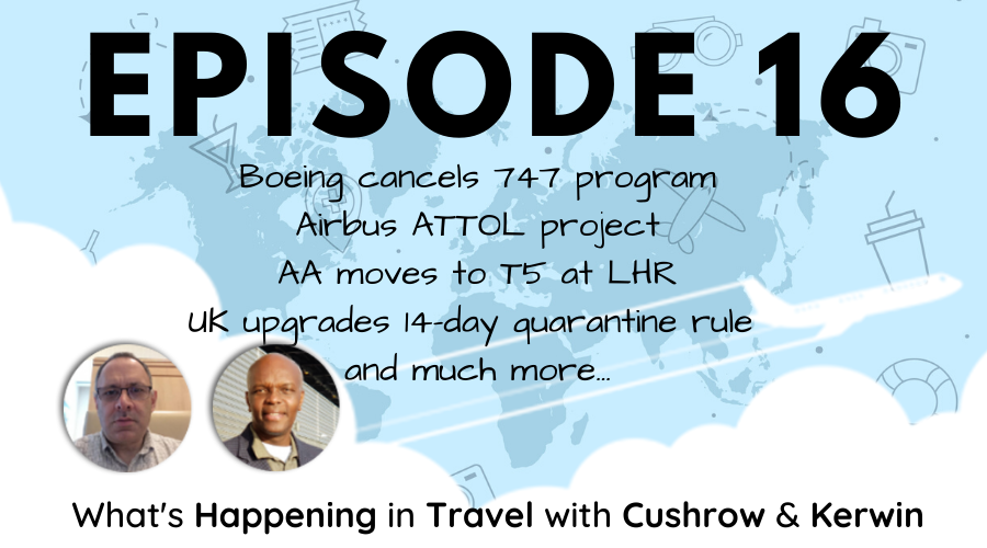 Episode 16 - What's Happening in Travel