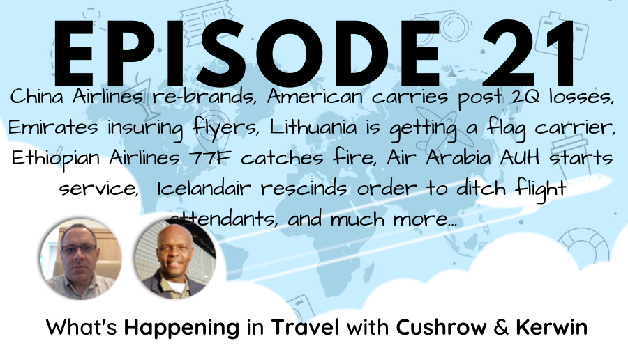 Episode 21: What's Happening in Travel