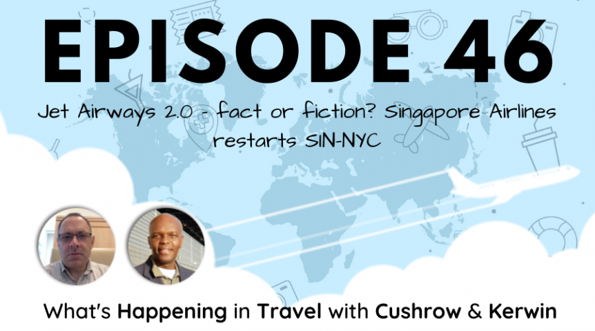 Episode 46: What's Happening in Travel