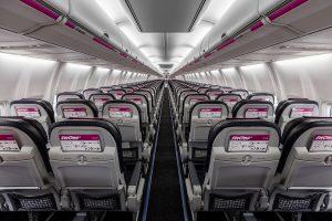 Swoop Interior Seats Back View