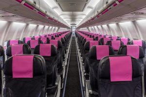 Swoop Interior Seats Front View