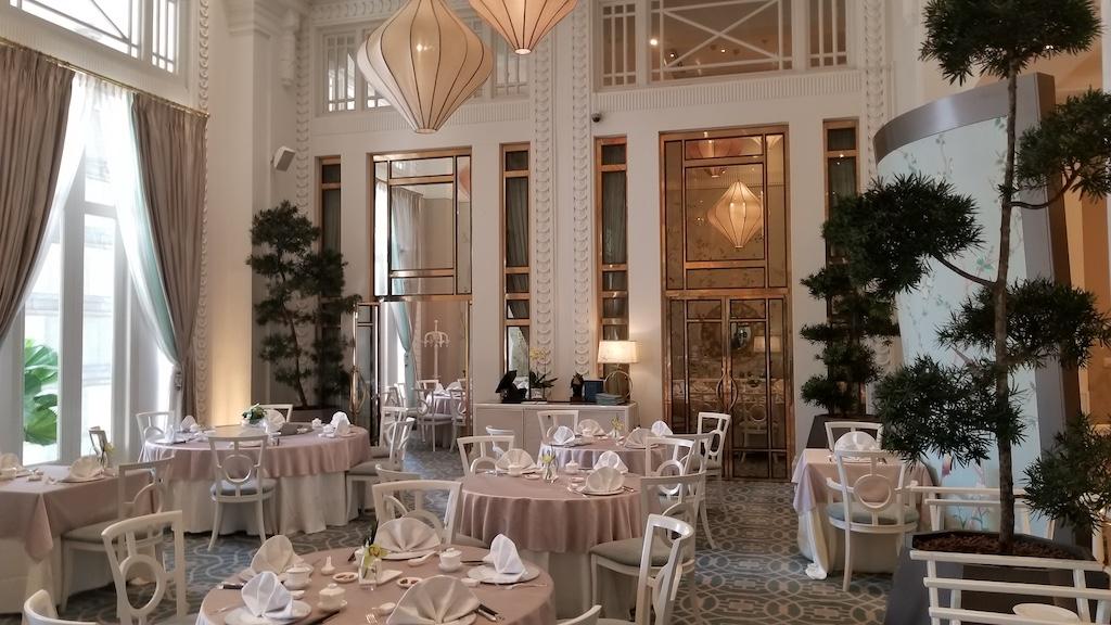 Mile Zero, Singapore inside Fullerton Bay Hotel