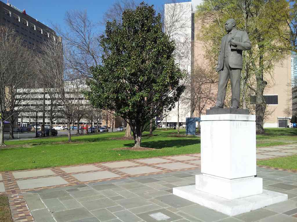 Birmingham, Alabama - Dr. Martin Luther King Jr. Statue
