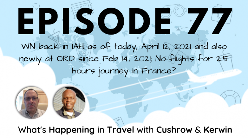 Episode 77: What's Happening in Travel