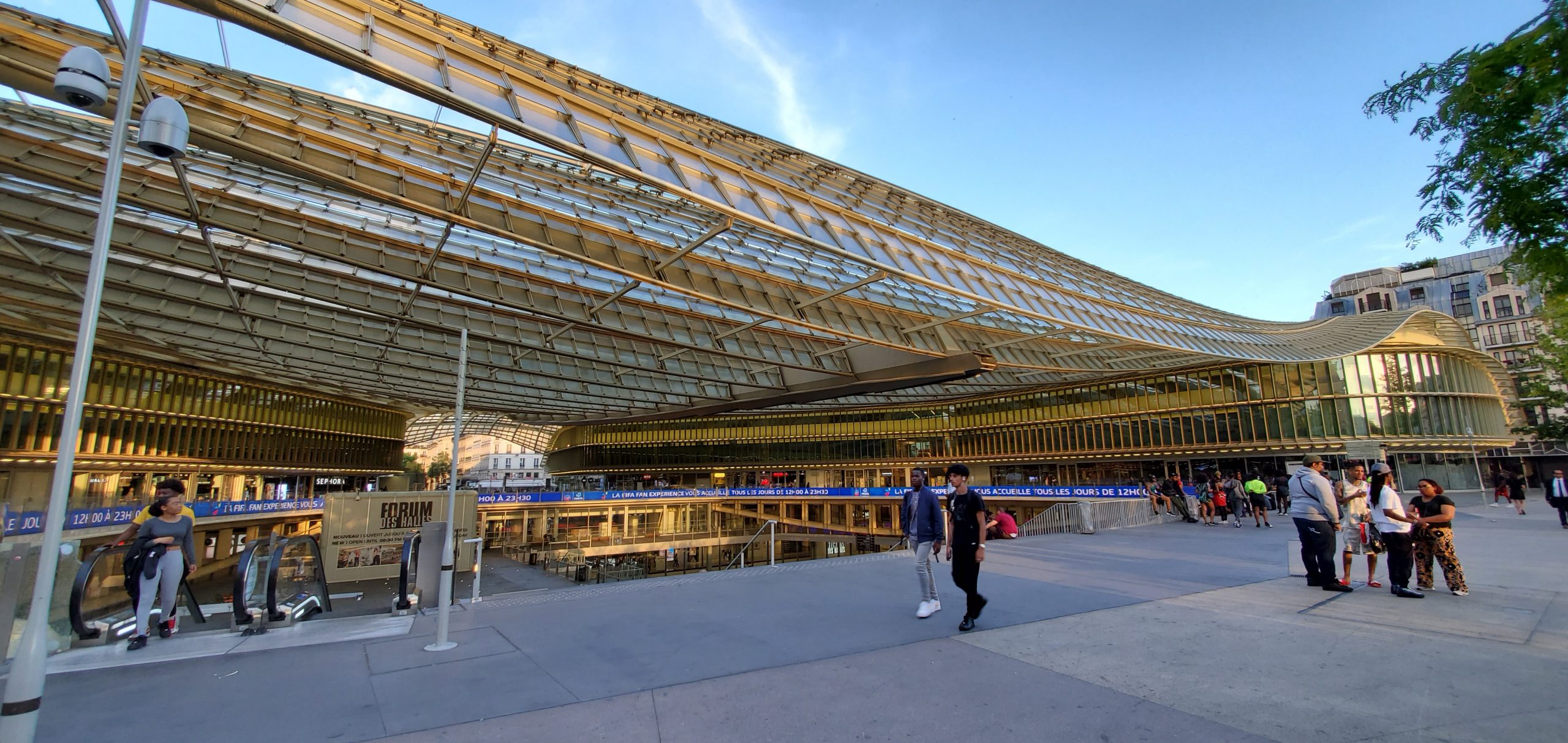 Forum Les Halles, Paris France