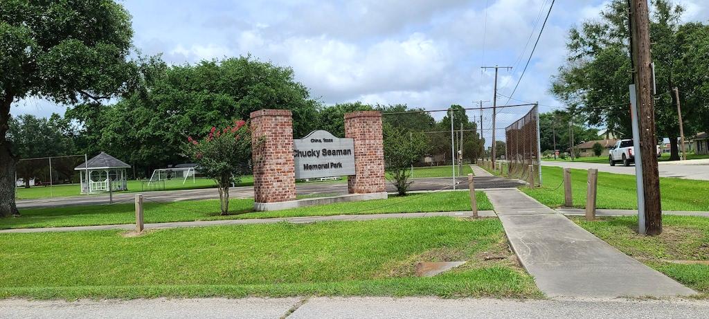 Chucky Seaman Memorial Park in China, Texas