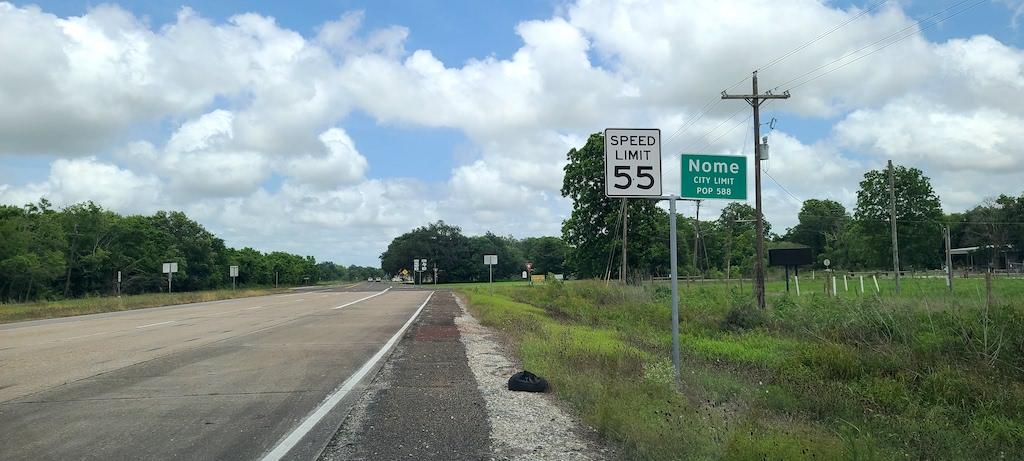 Nome City Limit - Nome, Texas