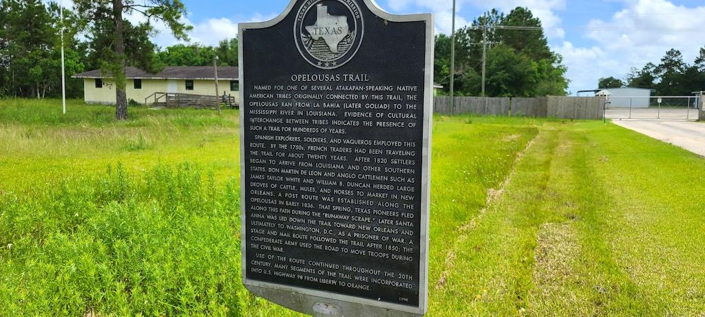 Opelousas Trail in China, Texas