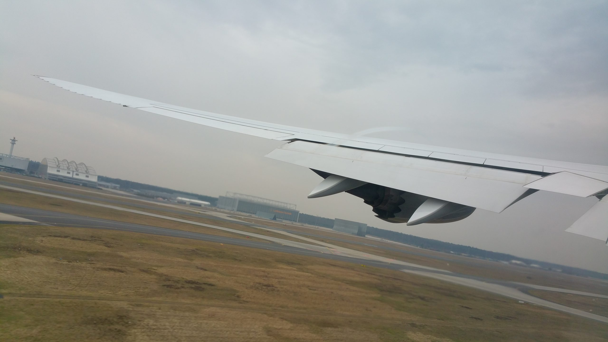 Lufthansa Boeing 747-8 Taking Off From Frankfurt Main Airport (FRA)