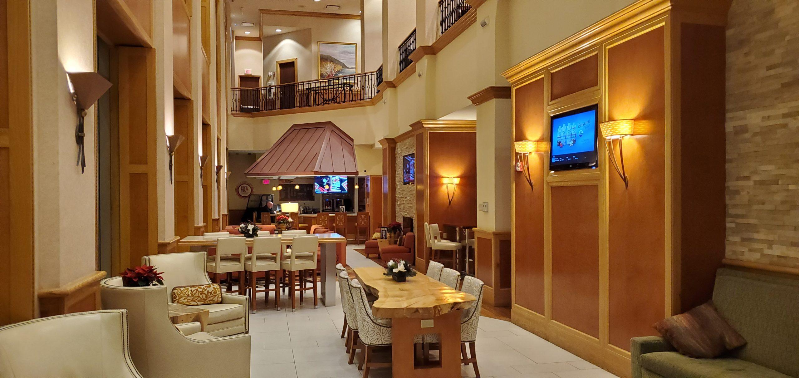 Anchorage, Alaska Marriott Hotel Lobby