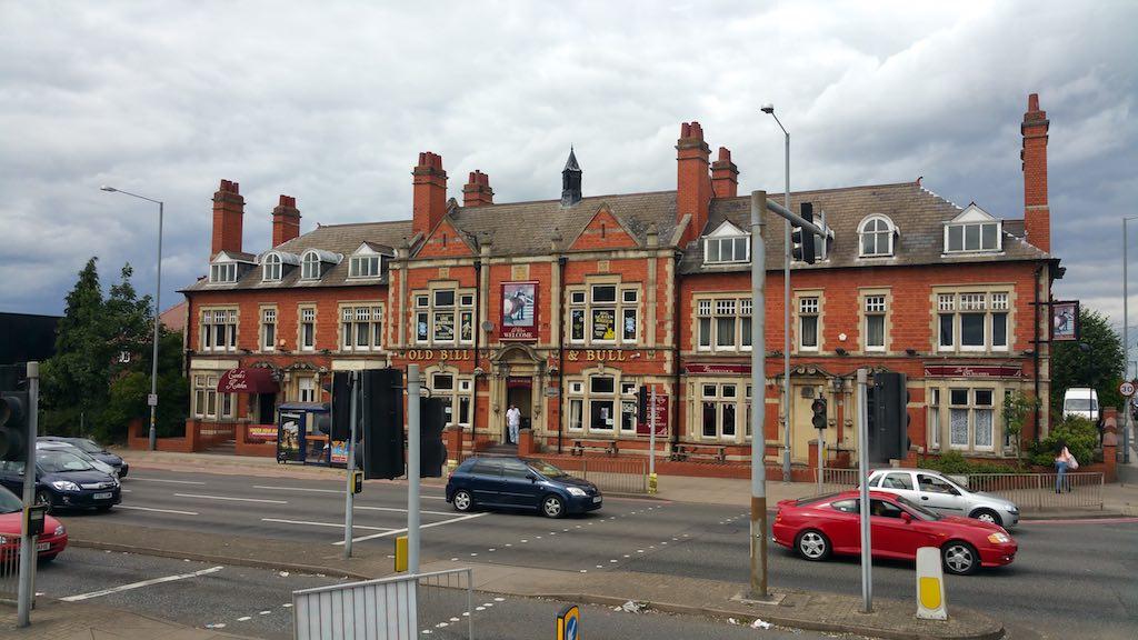 Birmingham, United Kingdom - Old Bill and Bull Pub