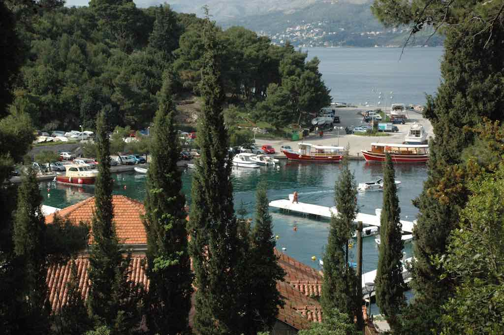 Cavtat, Croatia harbour