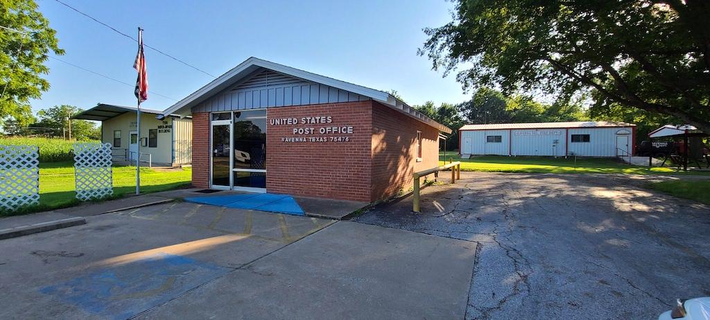Ravenna Post Office - Ravenna, Texas