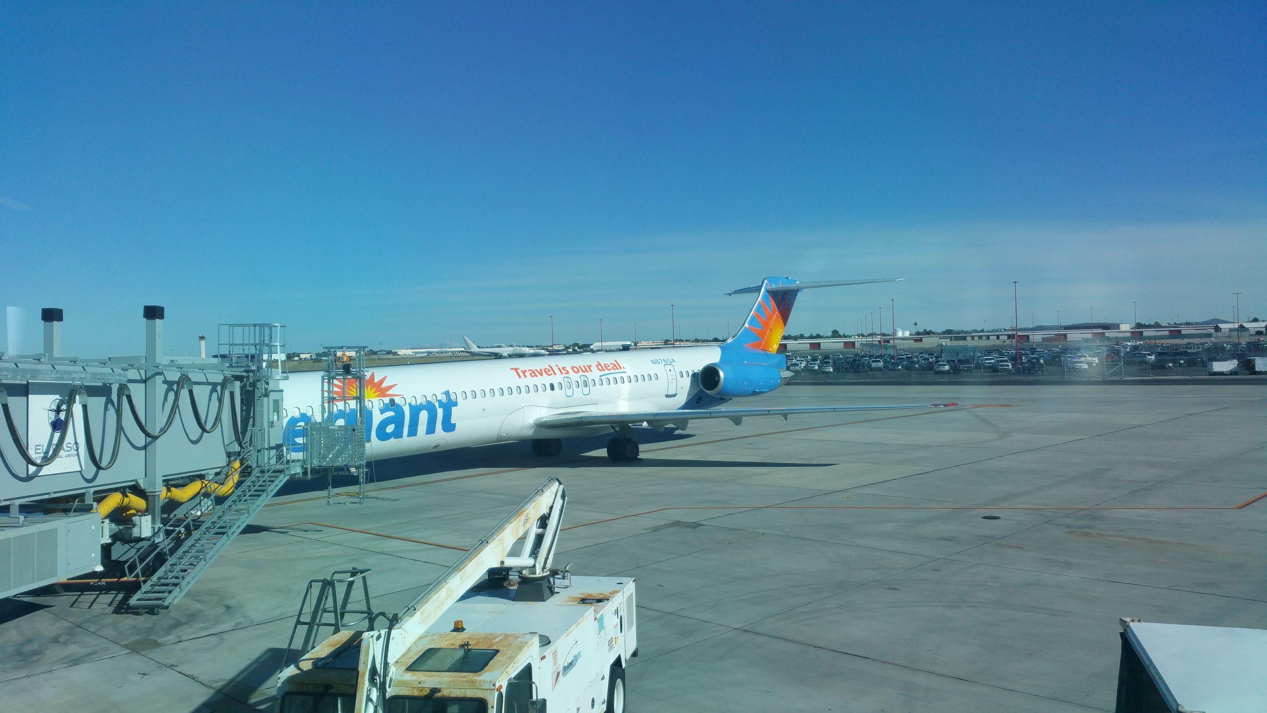 Allegiant at El Paso Airport