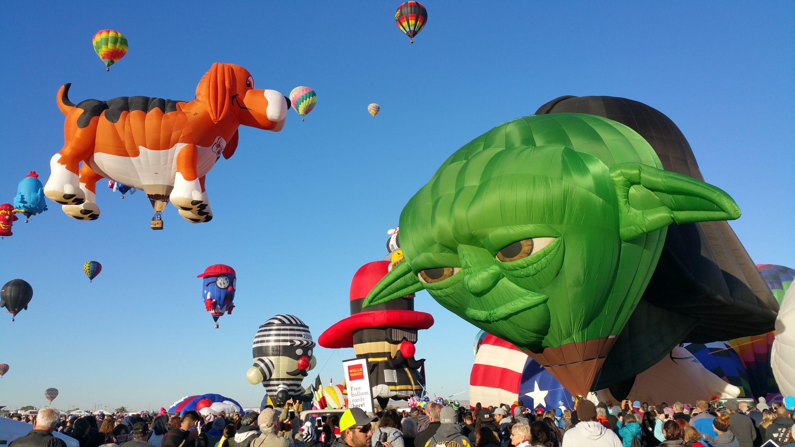 Albuquerque International Balloon Fiesta Yoda