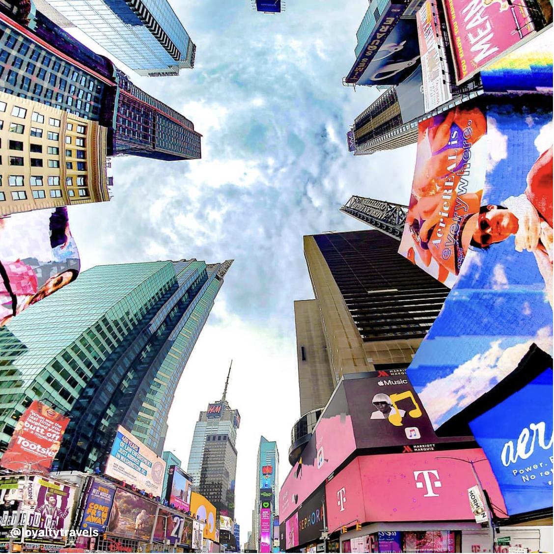 New York Times Square USA