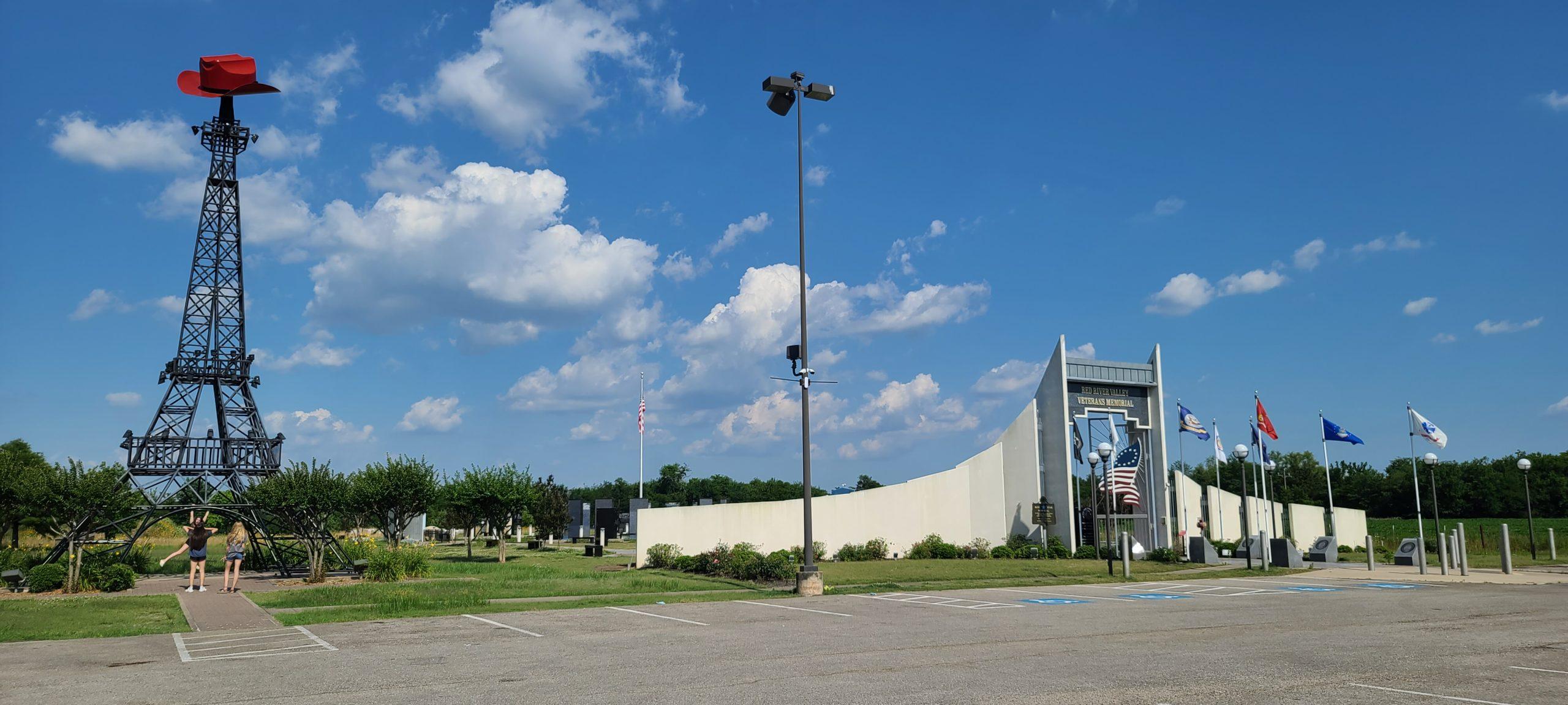Paris, Texas and Veterans Memorial