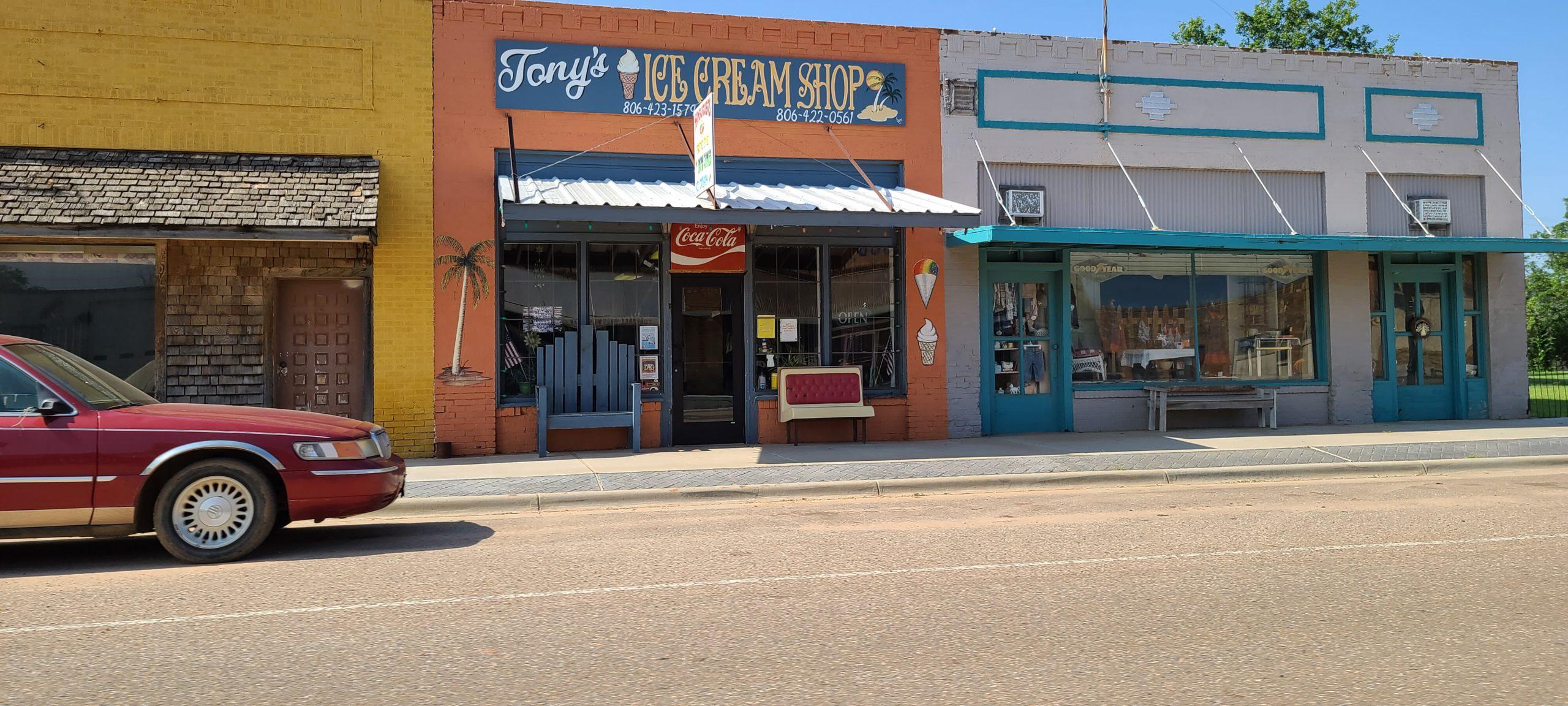 Tony's Ice Cream Shoppe